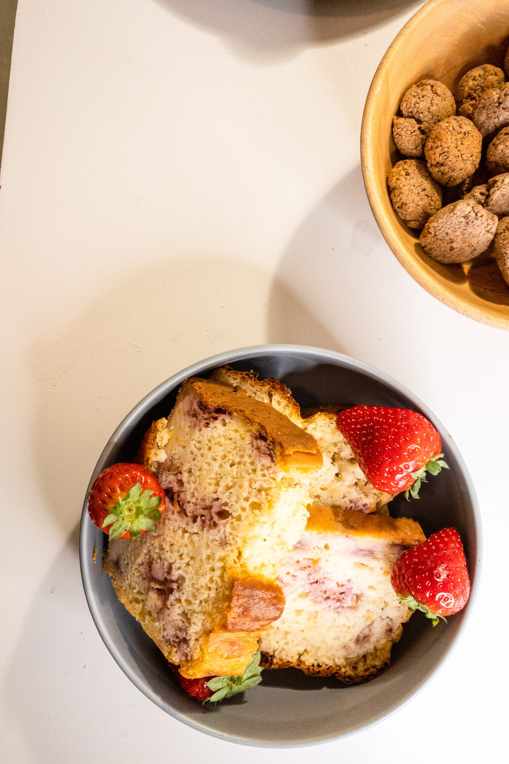 Frambozen yoghurtcake