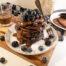 Chocolade pannenkoek