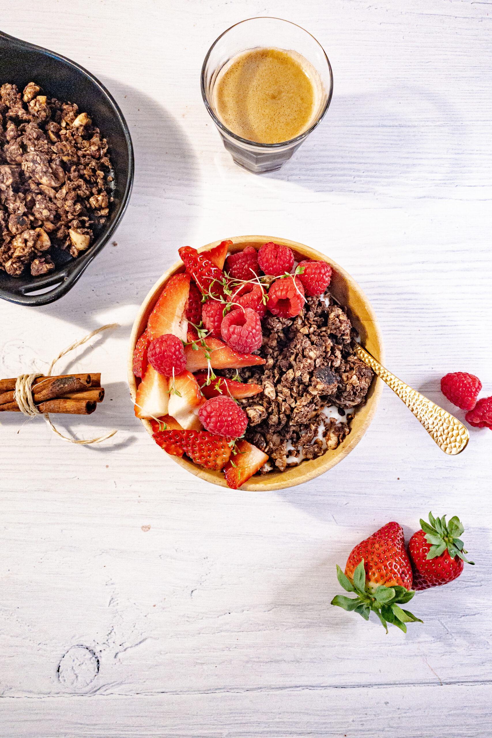 Chocolade pangranola