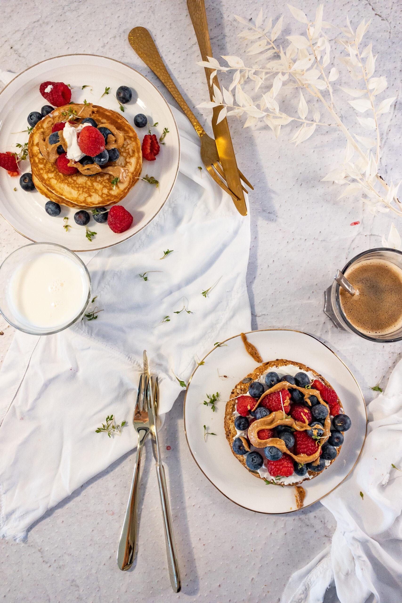 PBJ pancakes