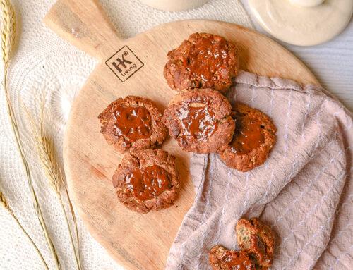 M&M karamelkoekjes